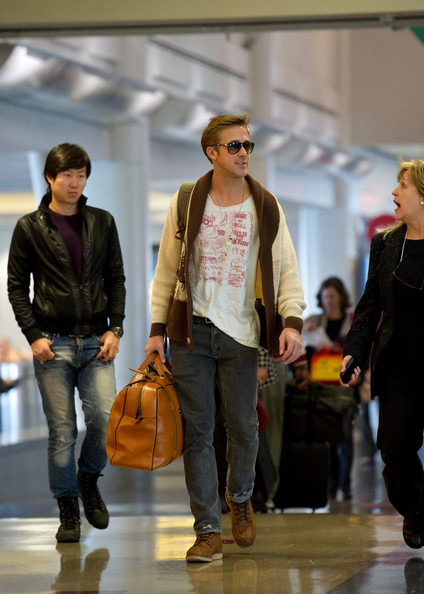 More Pics of Ryan Gosling Duffle Bag (1 of 8) - Duffle Bag Lookbook - StyleBistro