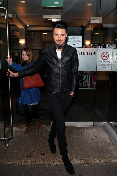 Rylan Clark Leather Jacket []
