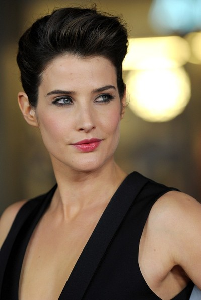 More Pics of Cobie Smulders Pompadour (1 of 14) - Pompadour Lookbook - StyleBistro