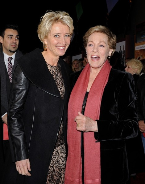 More Pics of Julie Andrews Short Side Part (4 of 27) - Short Hairstyles Lookbook - StyleBistro []