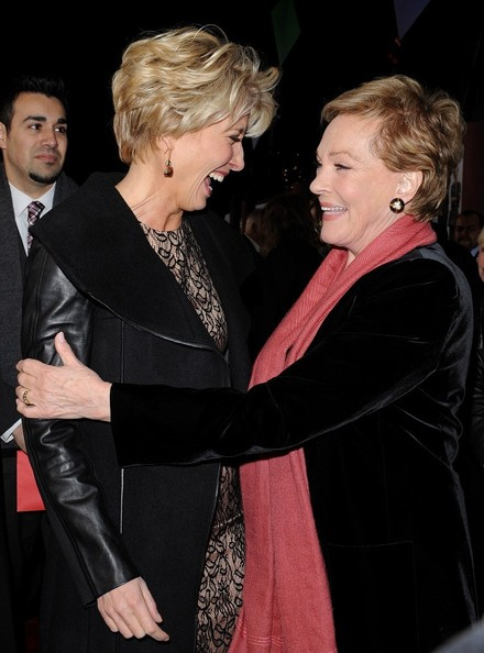 More Pics of Julie Andrews Short Side Part (2 of 27) - Short Hairstyles Lookbook - StyleBistro []