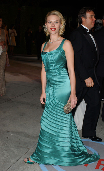 Scarlett Johansson Evening Dress []