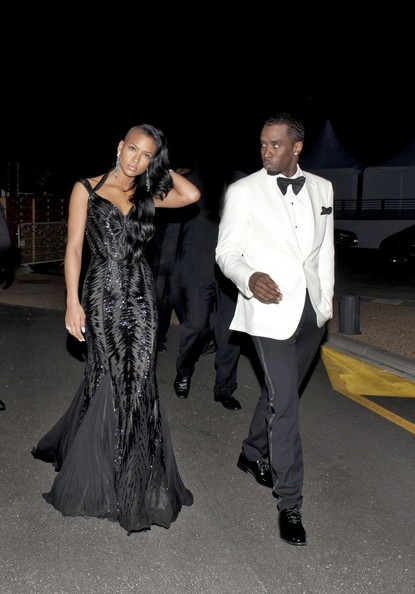 Cassie and Diddy Party at Cannes