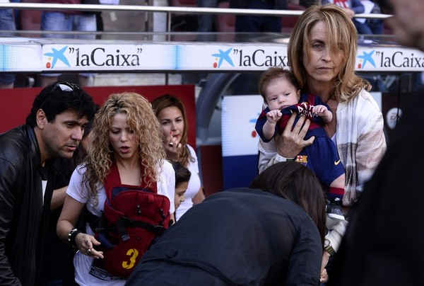 Shakira Out with Her Sons
