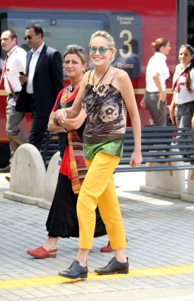 Sharon Stone Skinny Pants