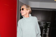 Sharon Stone Turtleneck