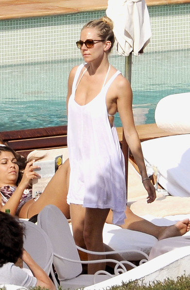 Sienna Miller Cover-up