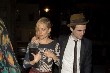 Sienna Miller Tom Sturridge Celebs at the AnOther Magazine Party