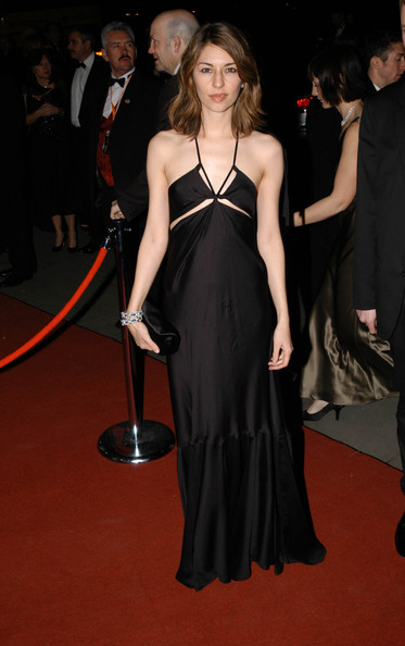 Sofia Coppola Evening Dress