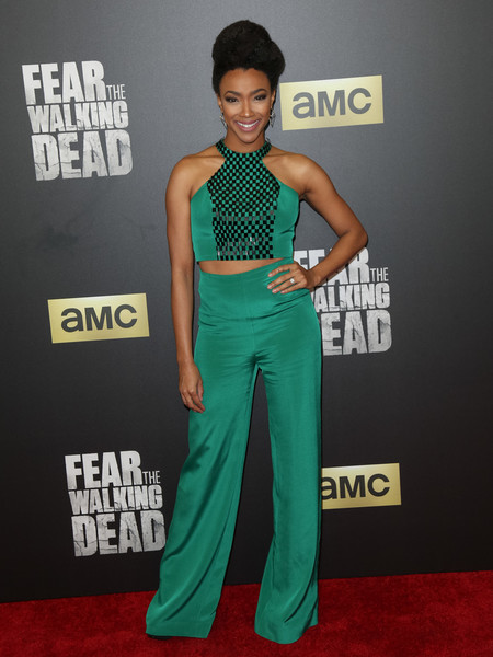 Sonequa Martin-Green Crop Top