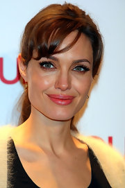 Angelina Jolie's lips looked perfectly pink for the premiere of 'The Tourist.'