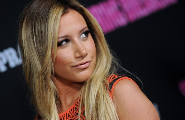 More Pics of Ashley Tisdale Long Straight Cut (1 of 9) - Ashley Tisdale Lookbook - StyleBistro