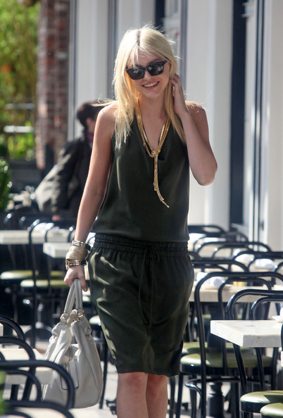 More Pics of Jessica Stam Gold Bracelet (1 of 5) - Gold Bracelet Lookbook - StyleBistro