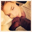 Rosie Huntington-Whiteley Bundles Up With Her Pup