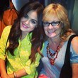 Lucy Hale Rocks Yellow Dots