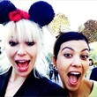Kourtney Goes to Disneyland