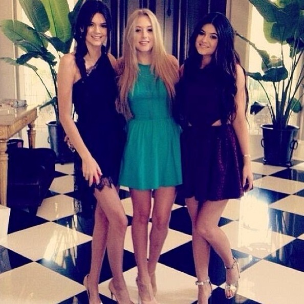 Kylie and Kendall Get Dolled Up