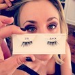 Kaley Cuoco Puts on Falsies