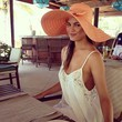 ...and Rocks an Awesome Floppy Hat