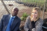Kristen Bell and Don Cheadle Photo