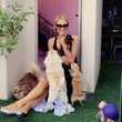 Paris Hilton Is Covered in Puppies