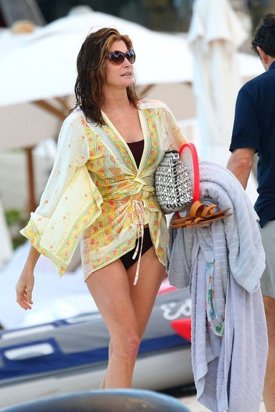 Stephanie Seymour Cover-up