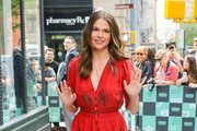 Sutton Foster Embroidered Dress