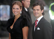Princess Madeleine wore an opulent fur bolero as she attended the opening of the Swedish Parliament.
