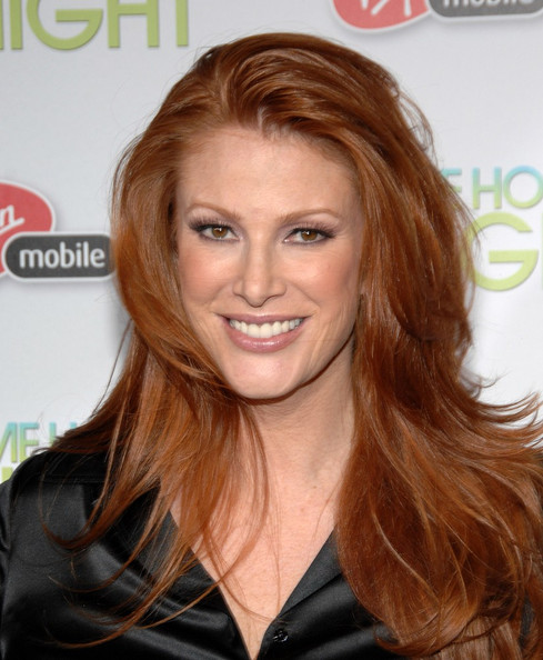 More Pics of Angie Everhart Knee Length Skirt (1 of 4) - Angie Everhart Lookbook - StyleBistro