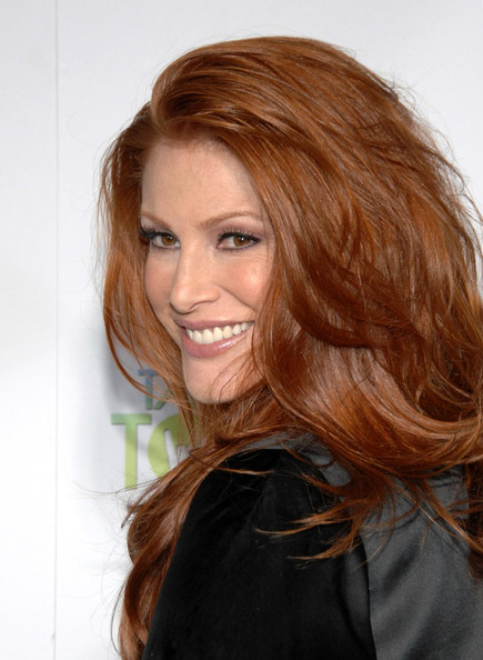 More Pics of Angie Everhart Knee Length Skirt (2 of 4) - Angie Everhart Lookbook - StyleBistro