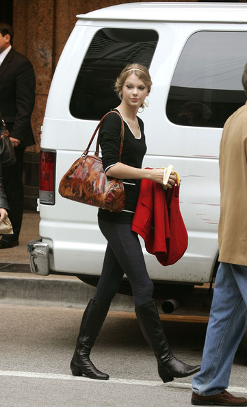 Taylor Swift Printed Shoulder Bag