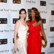 Iman and Anne Hathaway