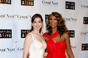 Iman and Anne Hathaway Photo