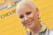 Amber Rose sported her usual buzzcut at the premiere of 'The Lego Batman Movie.'