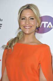 Heidi Range wore some dangling sphere earrings at the Pre-Wimbledon Party.