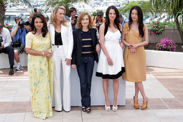 Isabelle Huppert Sharmila Tagore The jury is in at Cannes