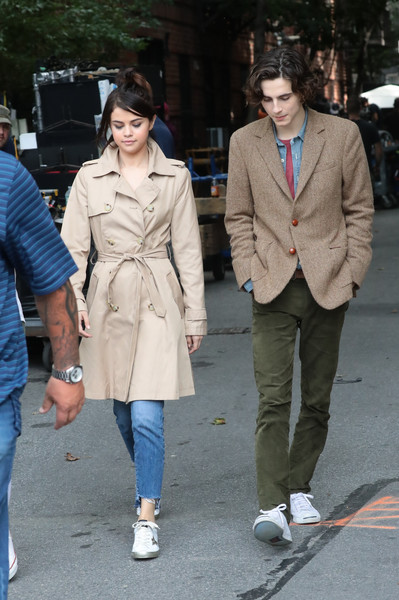 More Pics of Selena Gomez Trenchcoat (1 of 8) - Selena Gomez Lookbook - StyleBistro