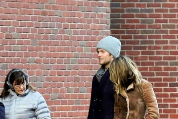 Tom Brady Benjamin Brady Tom Brady and Gisele Bundchen Out in Boston