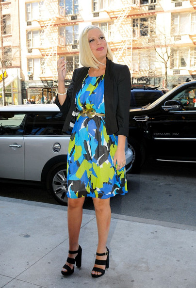 Tori Spelling Shoes