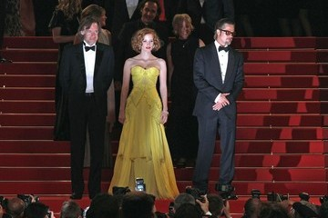 "Brad Pitt Jessica Chastain ""Tree of Life"" premieres at Cannes"