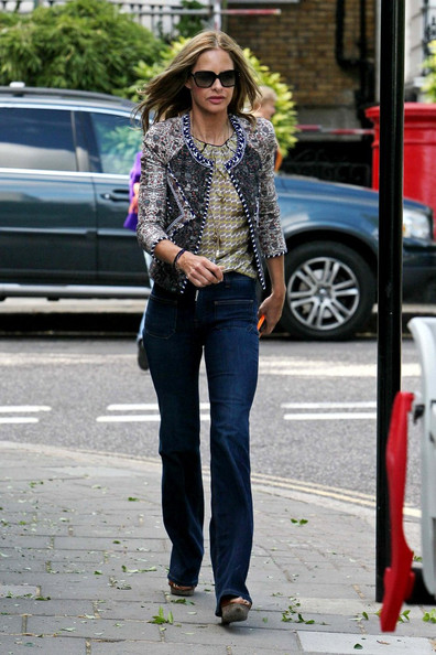 More Pics of Trinny Woodall Oversized Sunglasses (1 of 3) - Trinny Woodall Lookbook - StyleBistro