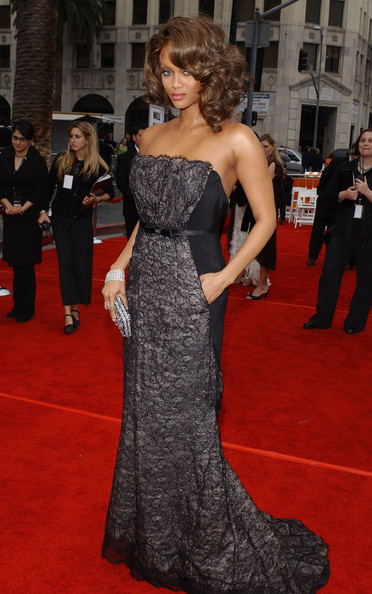 Tyra Banks Evening Dress