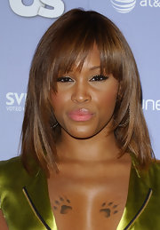 Eve chose a subtle lip color when she attended the 2008 Hot Hollywood party.