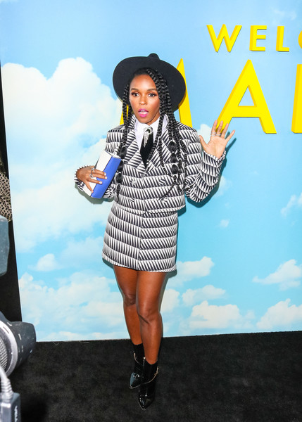 More Pics of Janelle Monae Skirt Suit (1 of 4) - Janelle Monae Lookbook - StyleBistro []