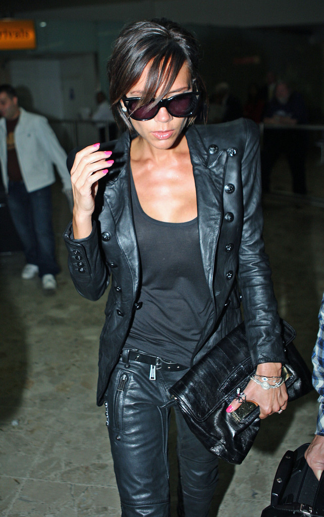 More Pics Of Victoria Beckham Leather Jacket 3 Of 4