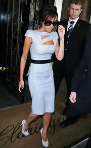 "Victoria Beckham loves YSL's ""Trib Two"" heels so much, she's been spotted wearing them in six different colors."