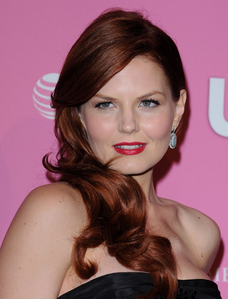 More Pics of Jennifer Morrison Strapless Dress (1 of 8) - Jennifer Morrison Lookbook - StyleBistro