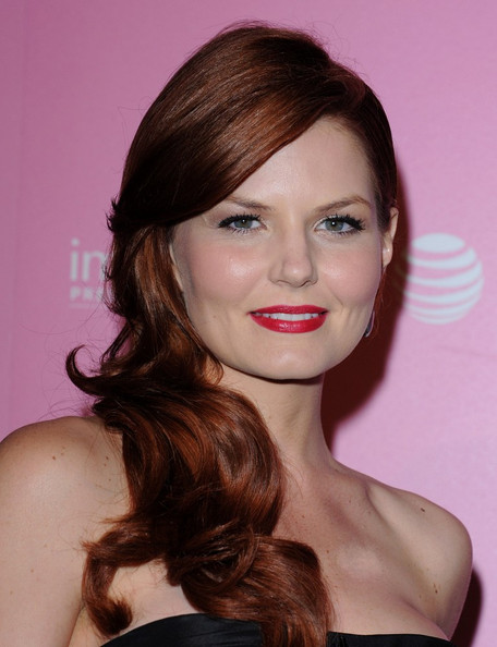 More Pics of Jennifer Morrison Strapless Dress (4 of 8) - Jennifer Morrison Lookbook - StyleBistro