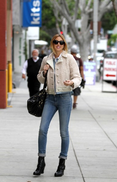 Whitney Port Wedge Boots