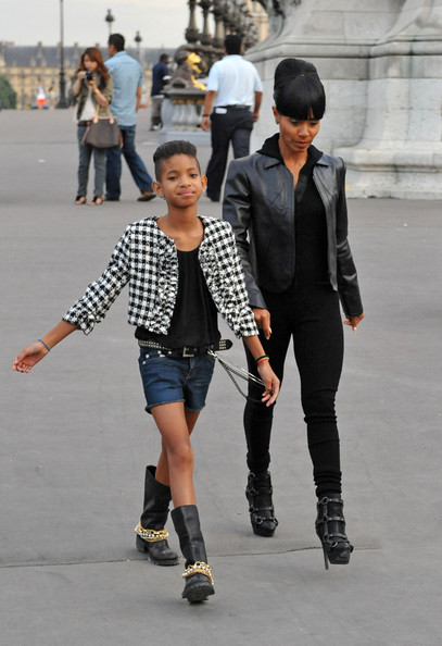 Willow Smith Cropped Jacket []
